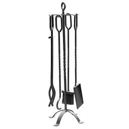 Barbecook Fireplace set black