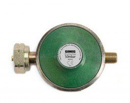 Gimeg universal gas pressure regulator 50 mb