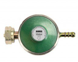 Gimeg universal gas pressure regulator hose connection 50 mb