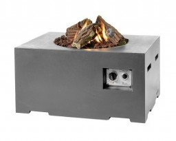 Happy Cocooning firepit rectangular small Anthracite