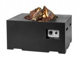 Happy Cocooning firepit rectangular small black
