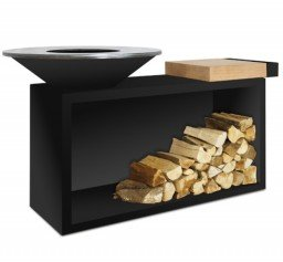 OFYR Island Black 85-100 rubberwood