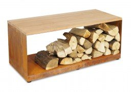 OFYR Wood storage bench