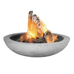 Storm Lifestyle garden fire bowl concrete look