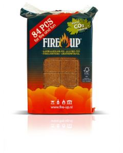 Fire Up Firelighters 84 pieces