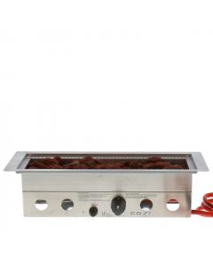 Cosi Fires built-in-burner Straight