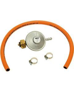 Barbecook gas pressure regulator + hose 37mb