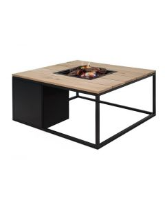 Cosi-fires Cosiloft 100 fire pit table Black/Teak