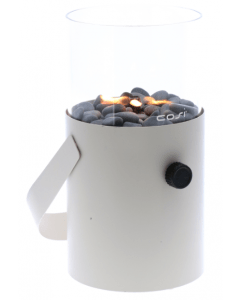 Cosi Scoop gas lantern ivory white