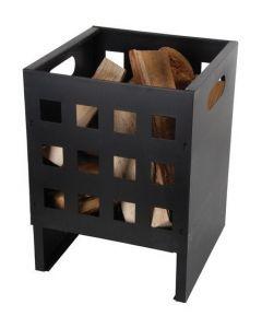 Esschert Design Fire Pit Cube Square