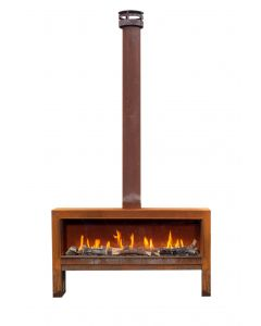 Faber The Mood gas fire free-standing front model