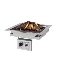 Happy Cocooning stand-alone built-in-burner square large