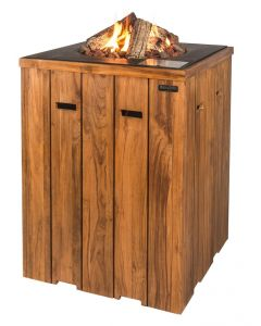 Happy Cocooning standing table teak wood