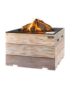 Happy Cocooning fire table Nice & Nasty square black