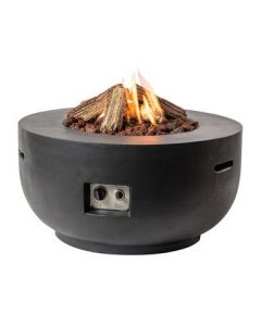 Cocoon table Bowl black