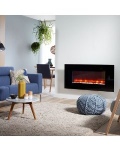 Livin' flame Dublin wall-mounted electric fireplace