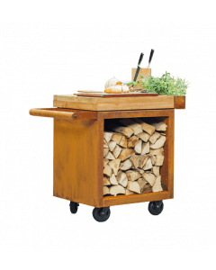 OFYR Mise en place Table Pro 65 Corten
