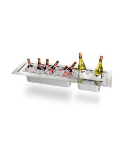 Built-in wine cooler rectangle large