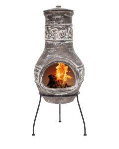Patio Fireplace La Hacienda Acopulco