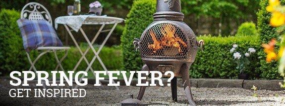 Spring fever? Firepit-online.com