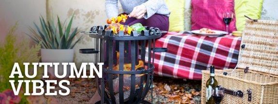 Autumn vibes with the La Hacienda  firepit Vancouver