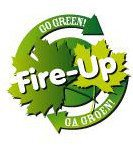 Logo Fire-Up Groen